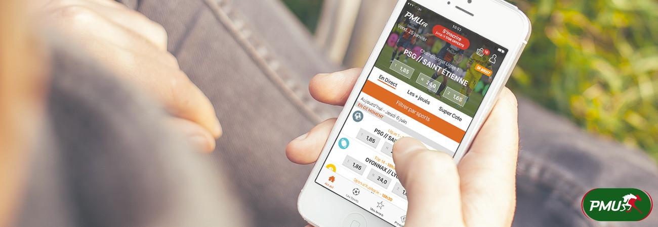Types de paris en ligne avec PMU mobile
