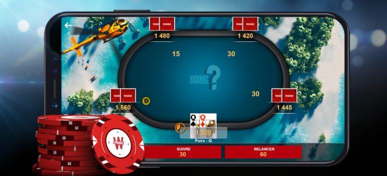 Poker winamax application mobile