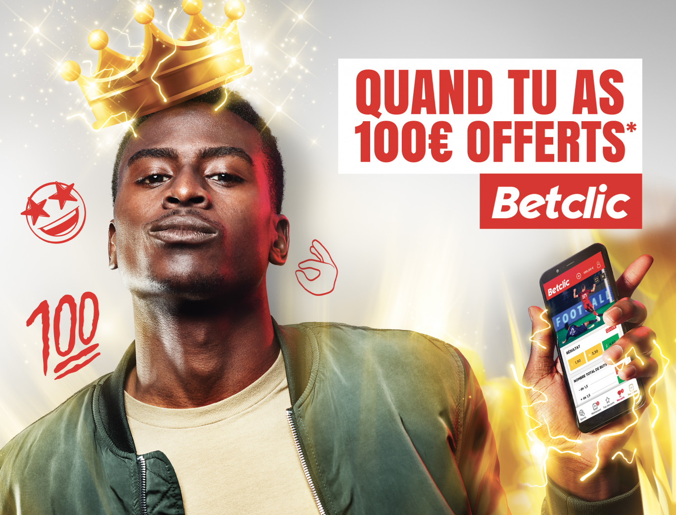Betclic application bonus